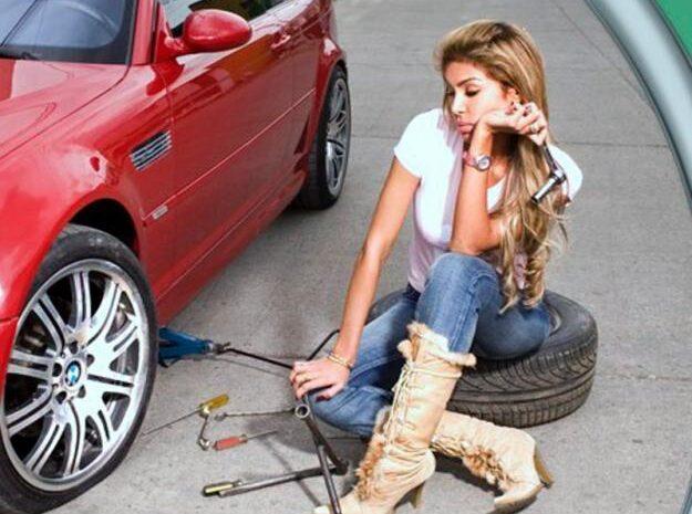 """Услуга """"насос"""" — подкачка колёс вашего автомобиля"""